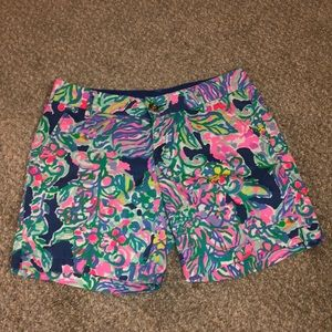 Lilly Pulitzer shorts. 2